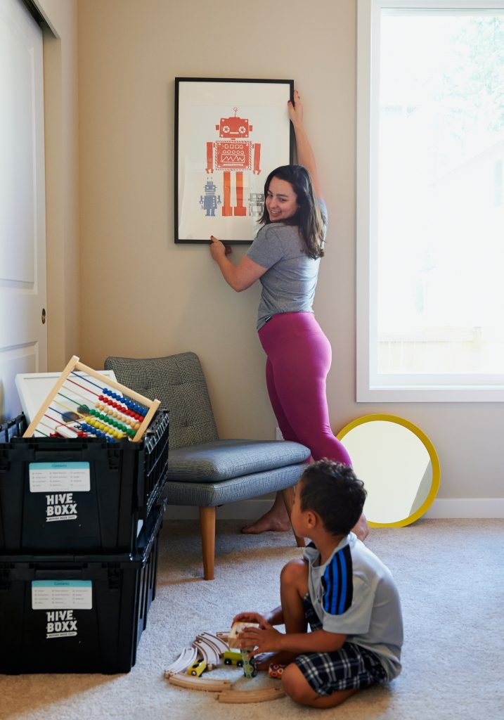 Packing a Child's Room